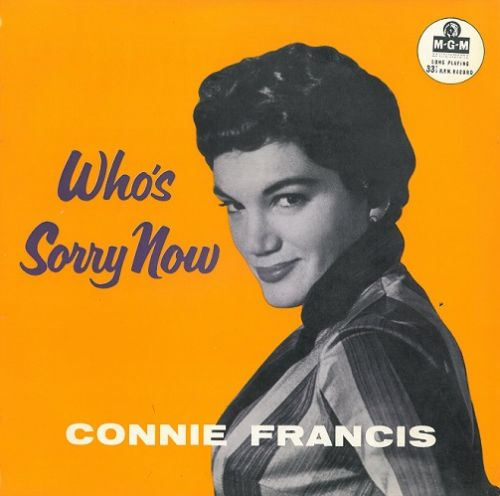 CONNIE FRANCIS Who's Sorry Now Vinyl Record 10 Inch MGM 1958